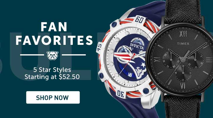 689-509 Invicta NFL Men's 52mm Bolt Quartz Chronograph Silicone Strap Watch w 1-Slot Dive Case