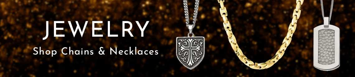 JEWELRY - Shop Men's Chains & Necklaces