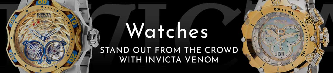 STAND OUT FROM THE CROWD WITH INVICTA VENOM - Ft. 689-614, 693-254