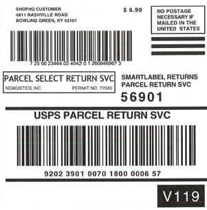 smartlabel returns parcel return service Can I drop off a smart label package in a USPS collection box ...